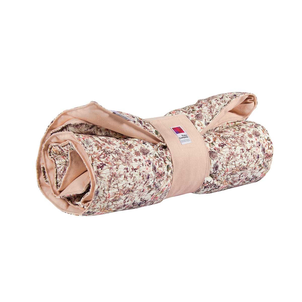Cobertor E Playmat Quilt Bebê Liberty® Denim &Bull; Cobertor E Playmat - 1 &Bull; Deezign