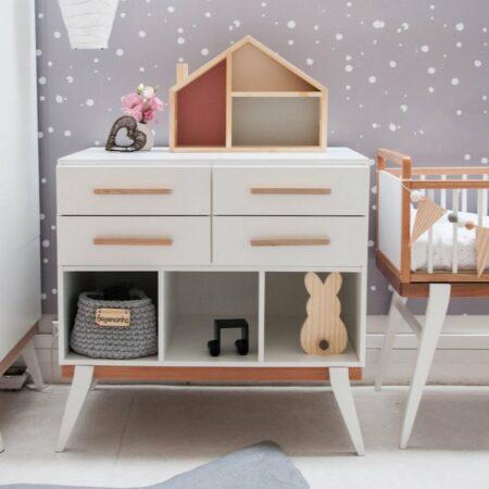 casinha de boneca ambientada