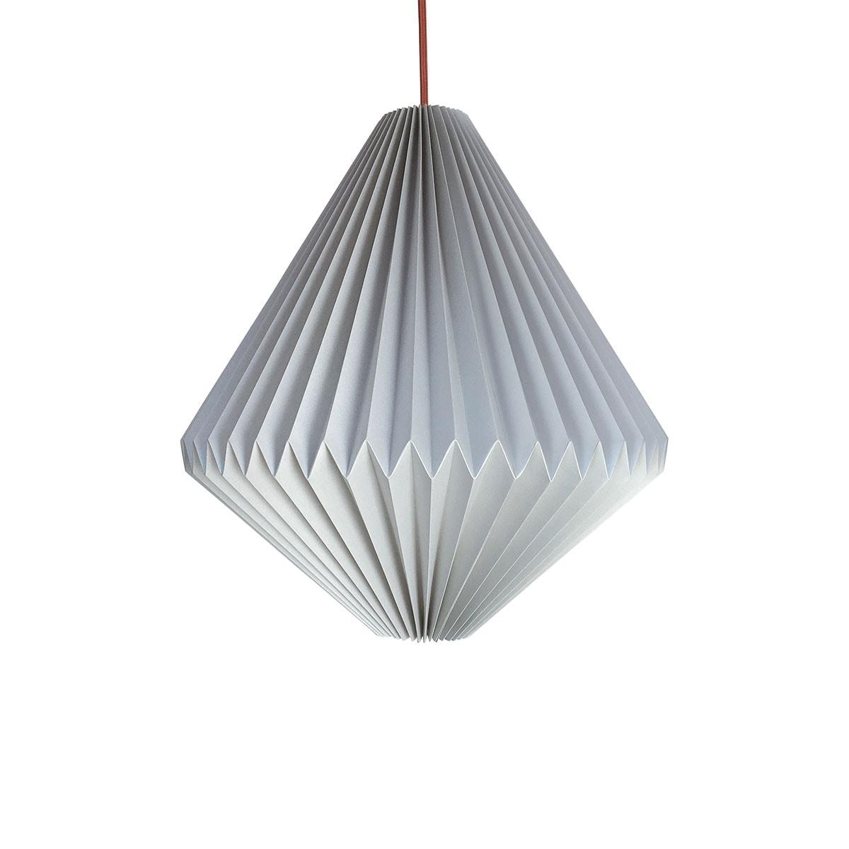 luminária pendente de papel Iluminoo - modelo Balão Aluminium