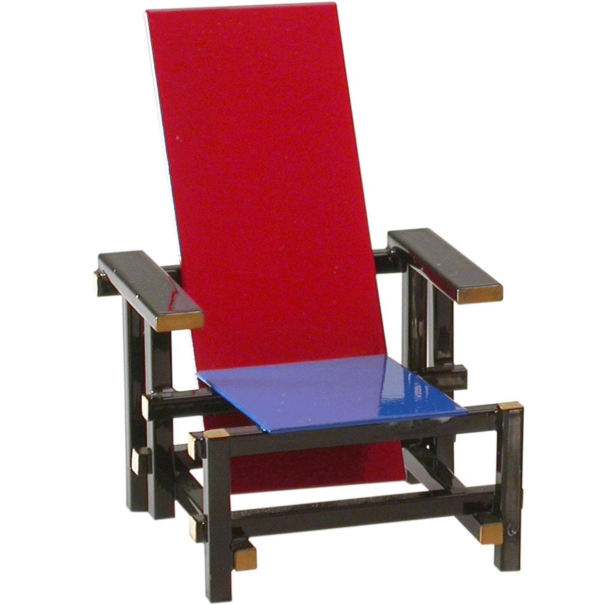 Miniatura Cadeira Red and Blue