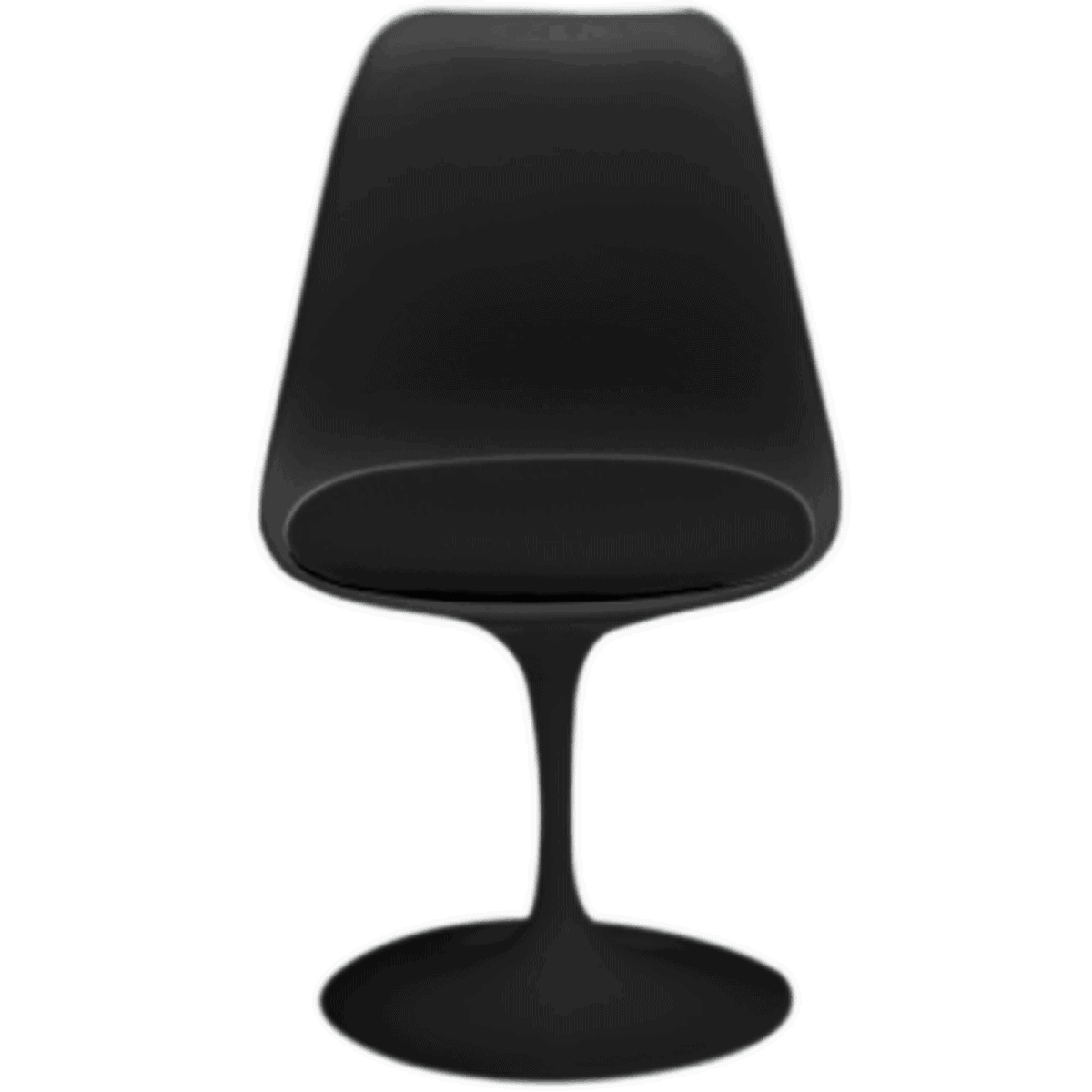 Miniatura Cadeira Tulip Preta