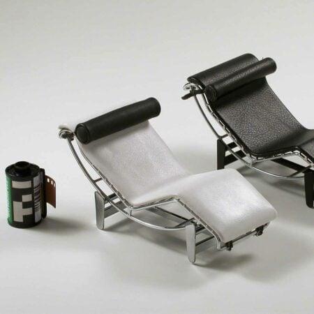 Miniatura Chaise Le Corbusier LC-4