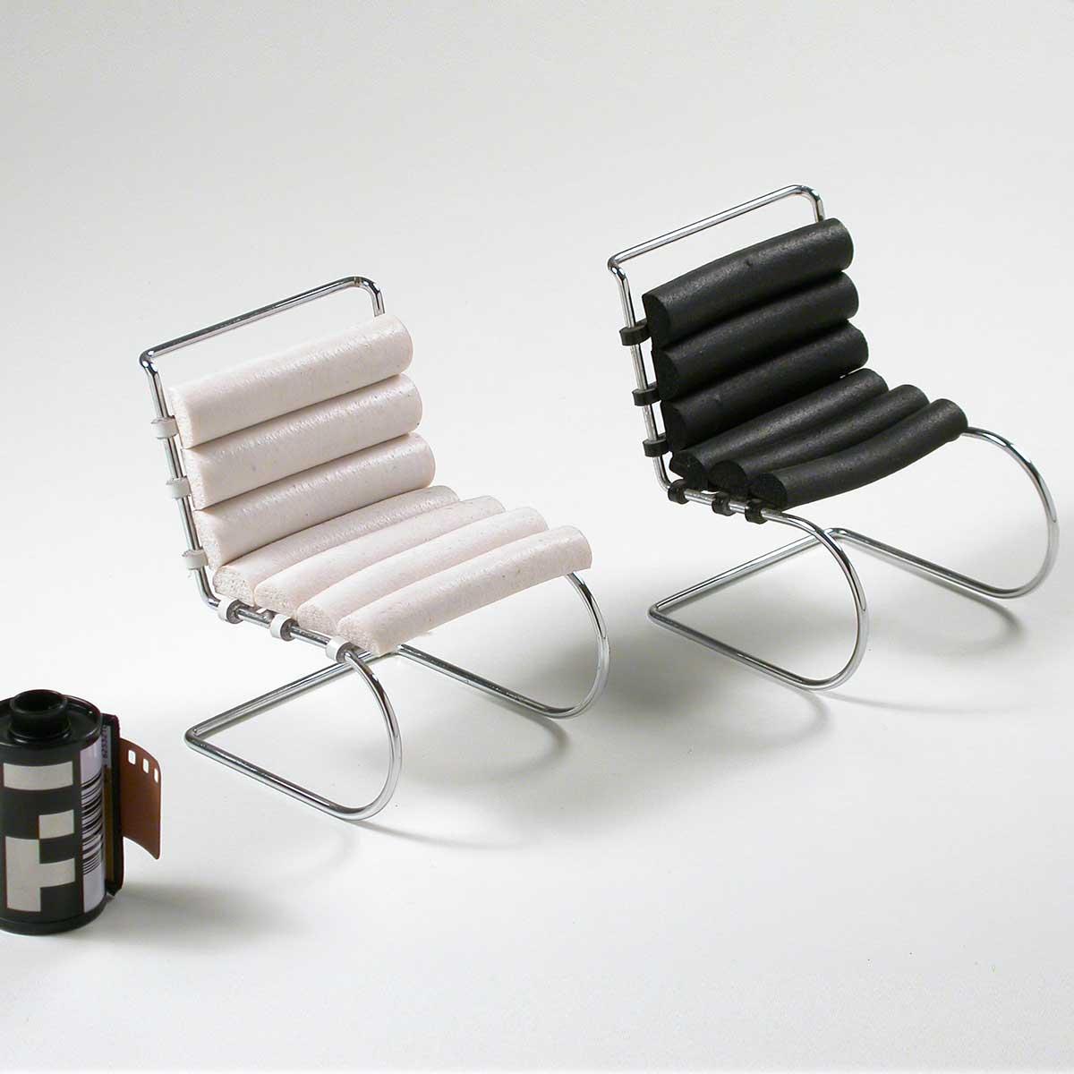 Miniatura Cadeira Chair MR s/ braço Dec 39