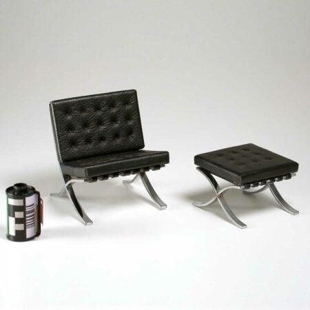Miniatura Cadeira Barcelona 1929