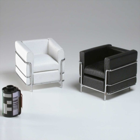 Miniatura Poltrona Le Corbusier