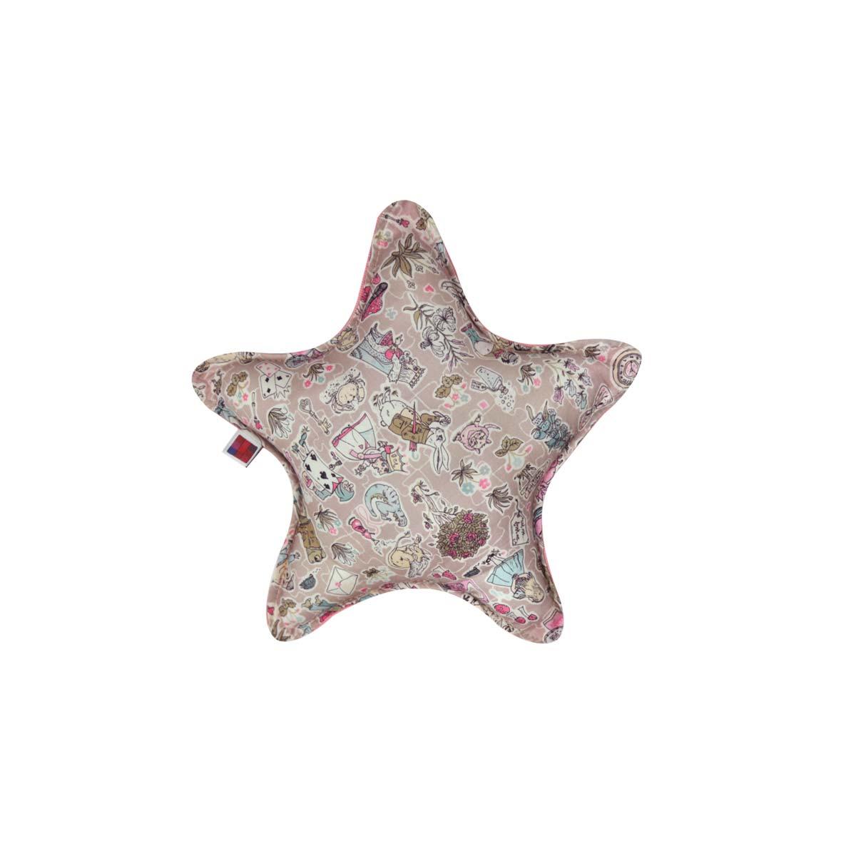 Almofada Star P Tecido Liberty Alice 01
