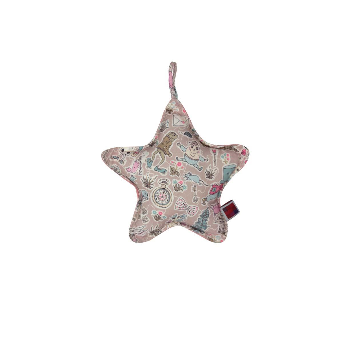 Almofada Star Pp Tecido Liberty Alice 01 F
