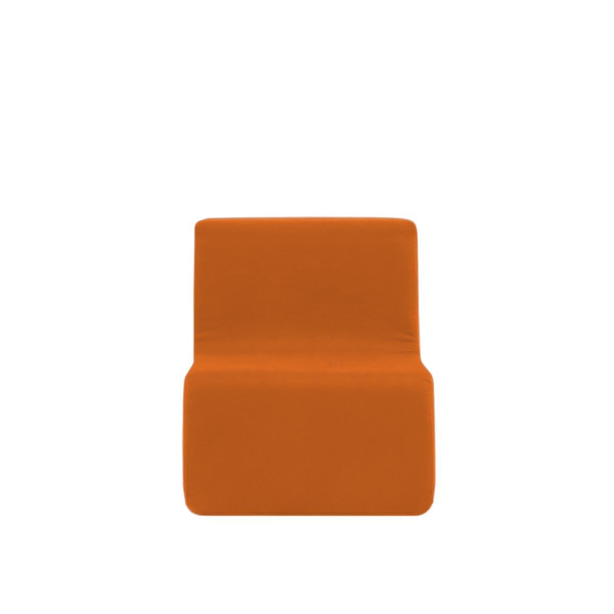 Poltroninha Muss r02 Tecido Lonita Laranja 01