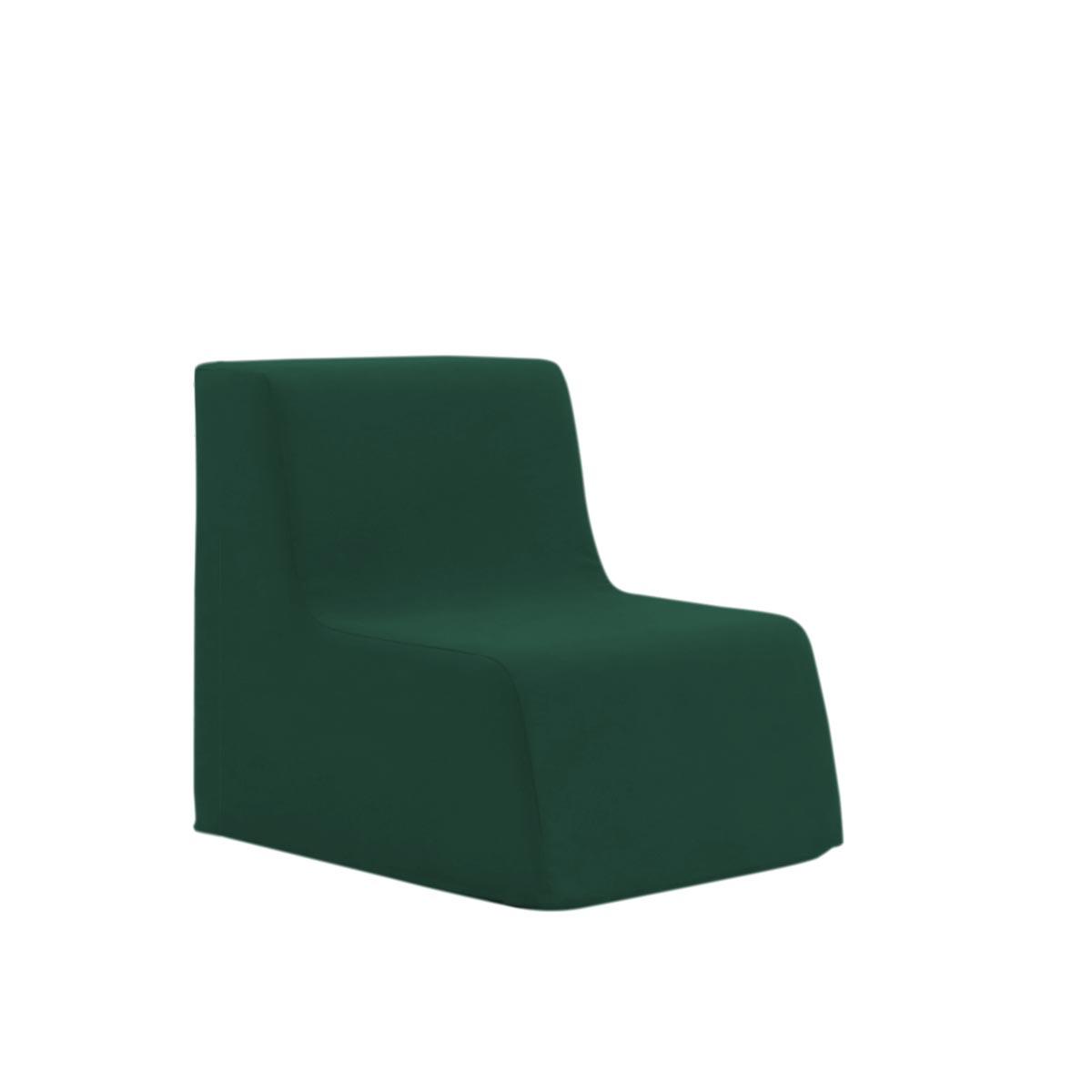 Poltroninha Muss r02 Tecido Lonita Verde Bistro 02