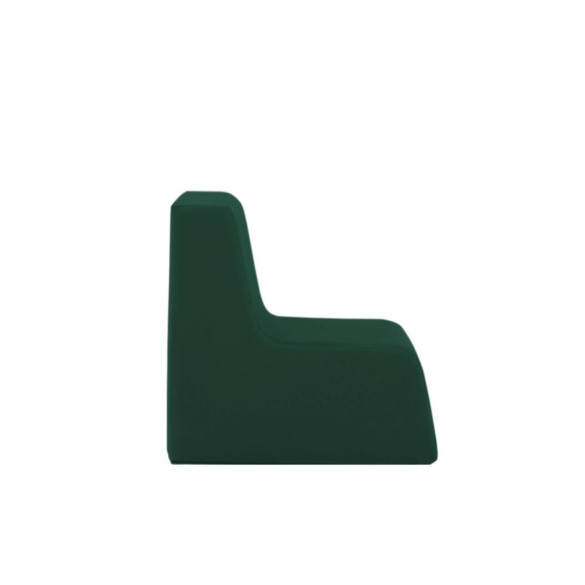 Poltroninha Muss r02 Tecido Lonita Verde Bistro 03