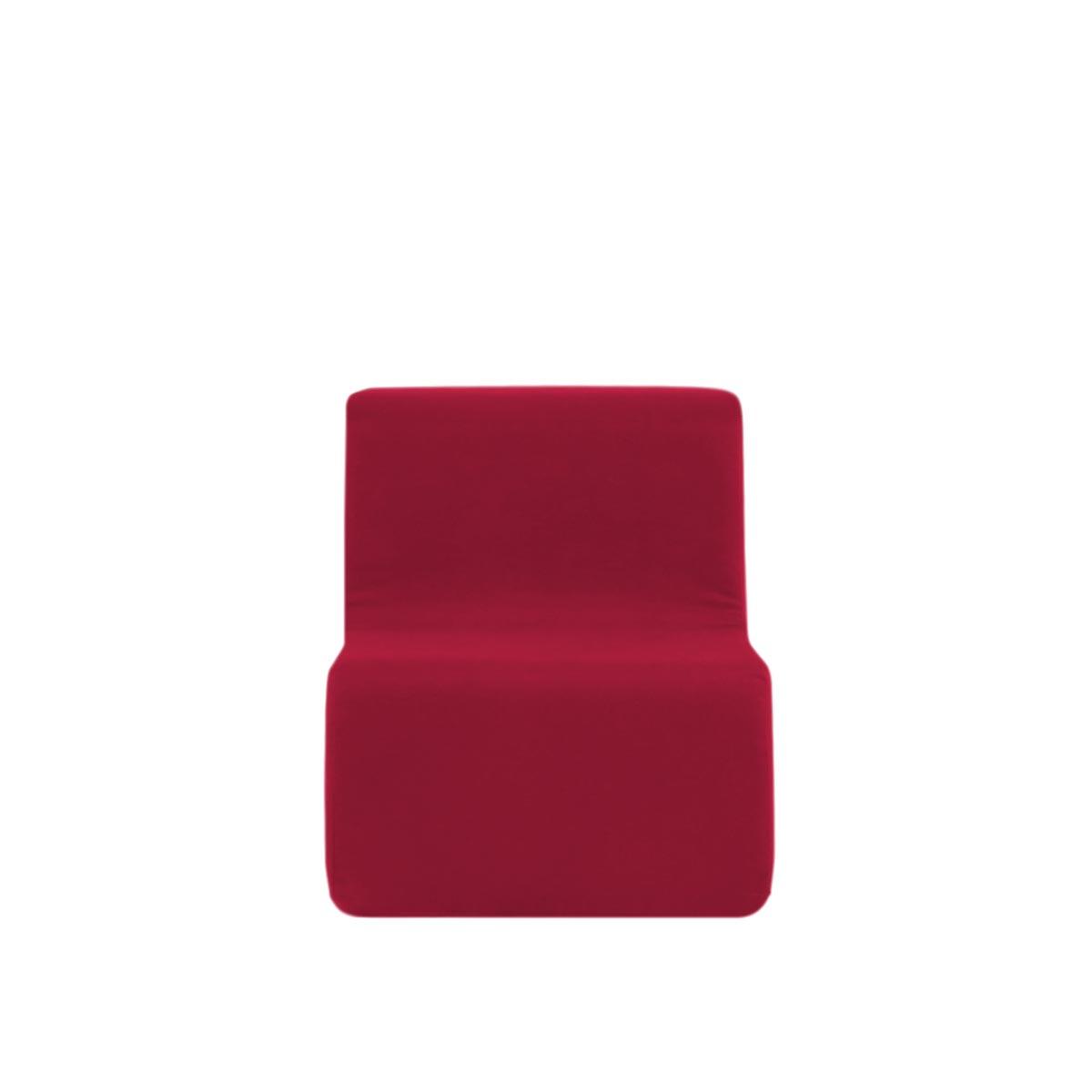 Poltroninha Muss r02 Tecido Lonita Vermelho da China 01