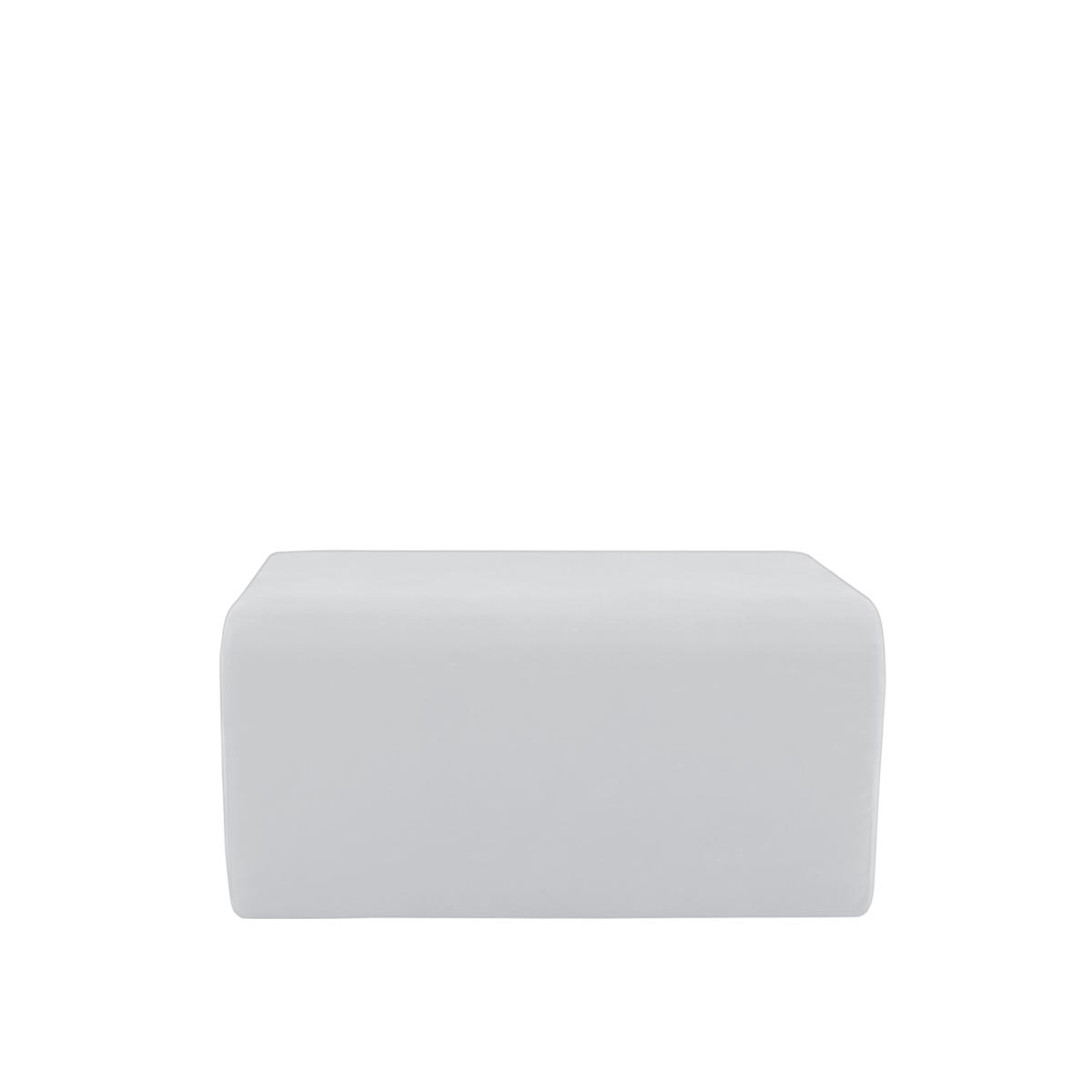 Pufe Muss R02 Tecido Lonita Branco 01