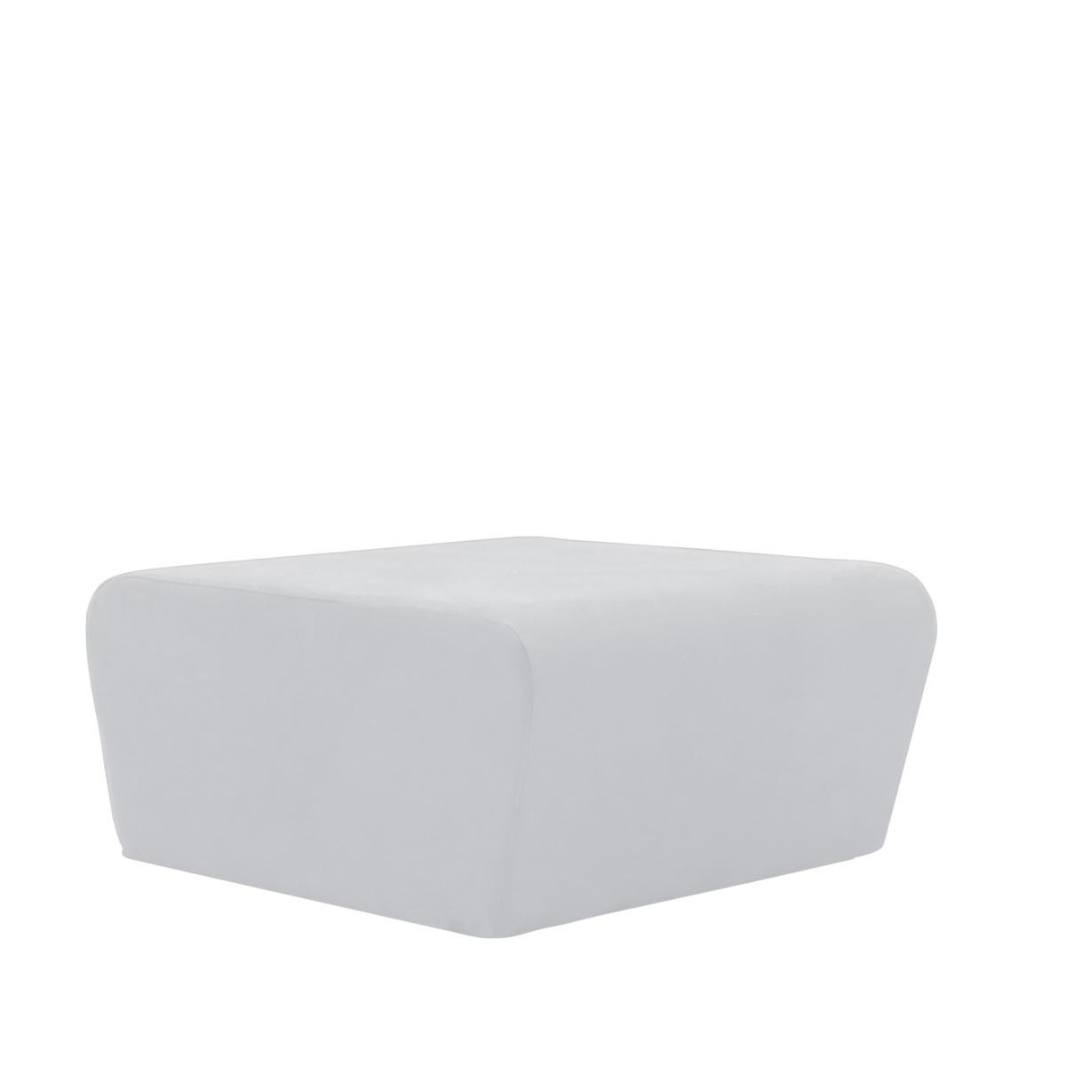 Pufe Muss R02 Tecido Lonita Branco 02
