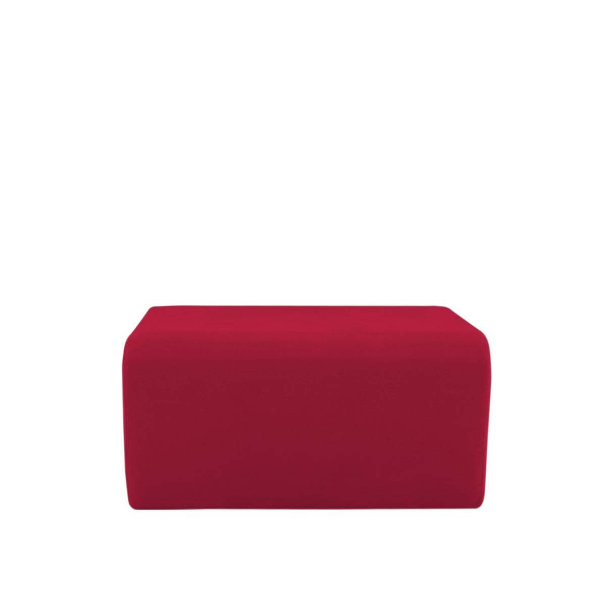 Pufe Muss R02 Tecido Lonita Vermelho Da China 01