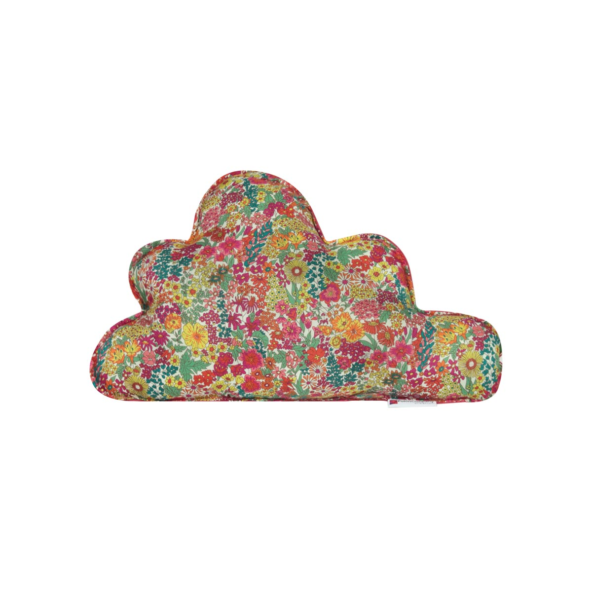 Almofada Nuvem M Tecido Liberty Margaret Pink 01 F