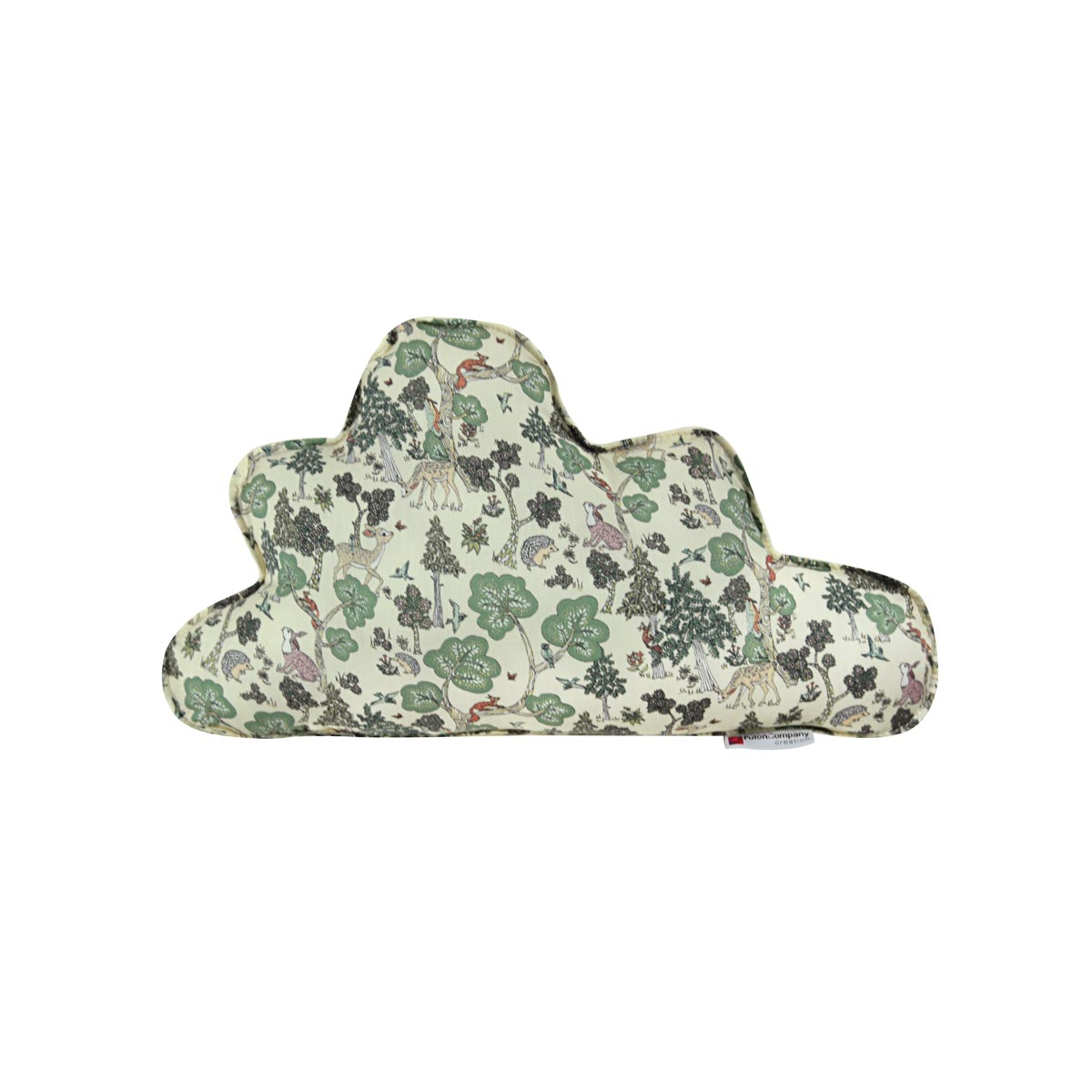 Almofada Nuvem M Tecido Liberty Na Floresta 01 F