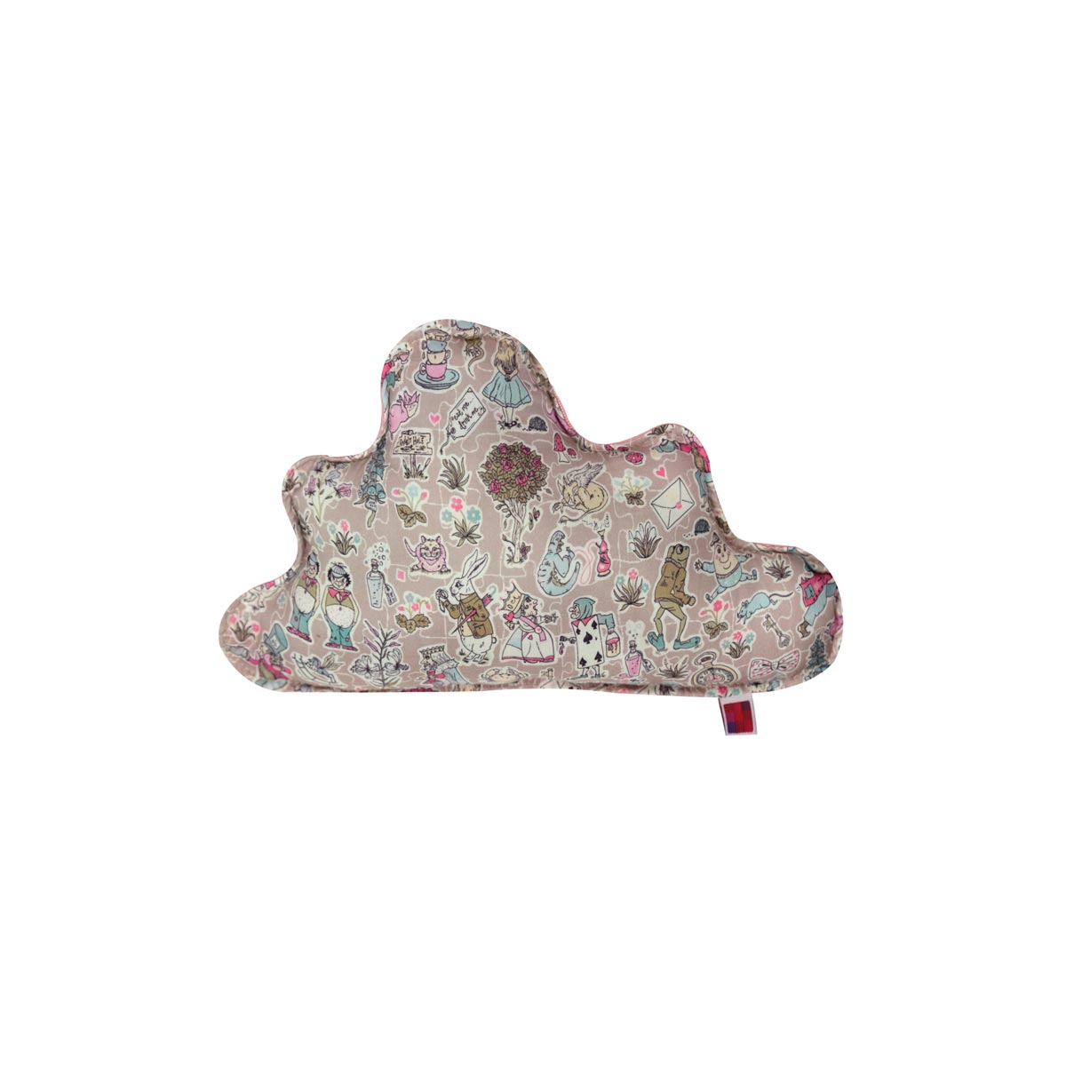 Almofada Nuvem P Tecido Liberty Alice 01