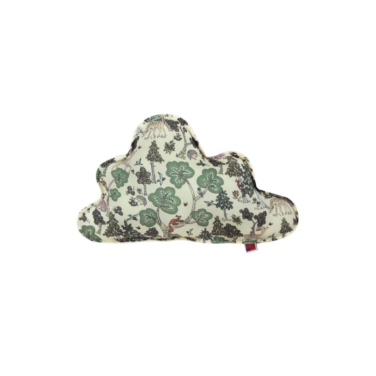 Almofada Nuvem P Tecido Liberty Na Floresta 01