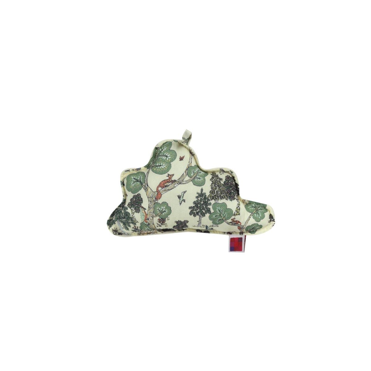 Almofada Nuvem PP Tecido Liberty Na Floresta 01 F