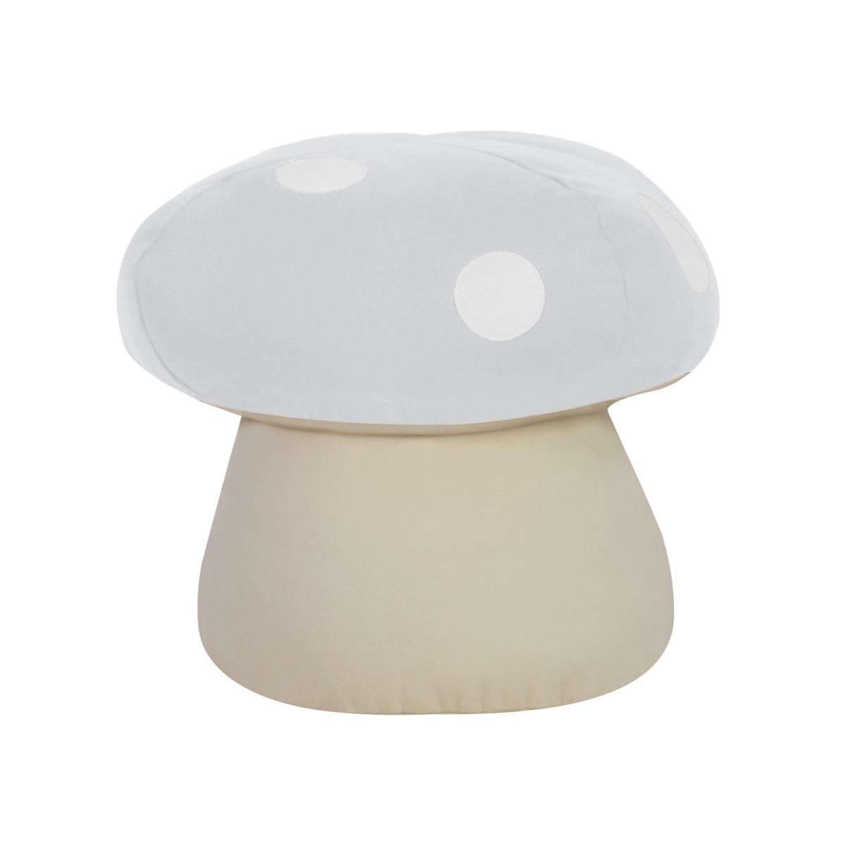 Acessorio COGUMELO Tecido Lonita Branco 01