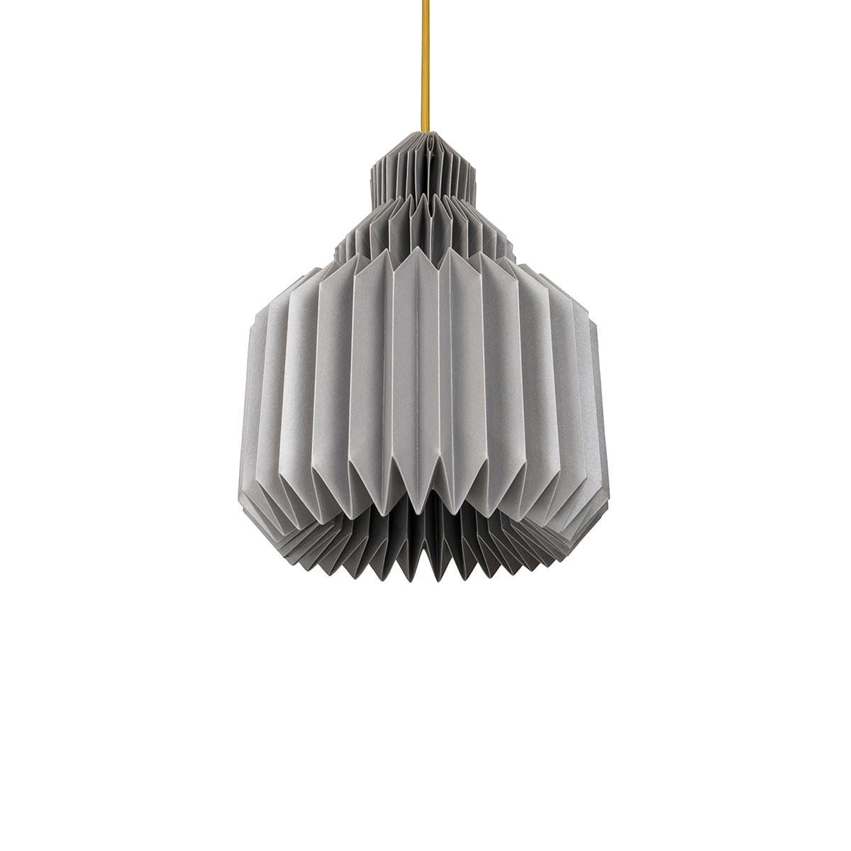 luminária pendente de papel Iluminoo - modelo Amarilis