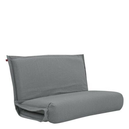 Pufe ClicClac Duo Lounge Tecido Ecolona Cimento 02 04