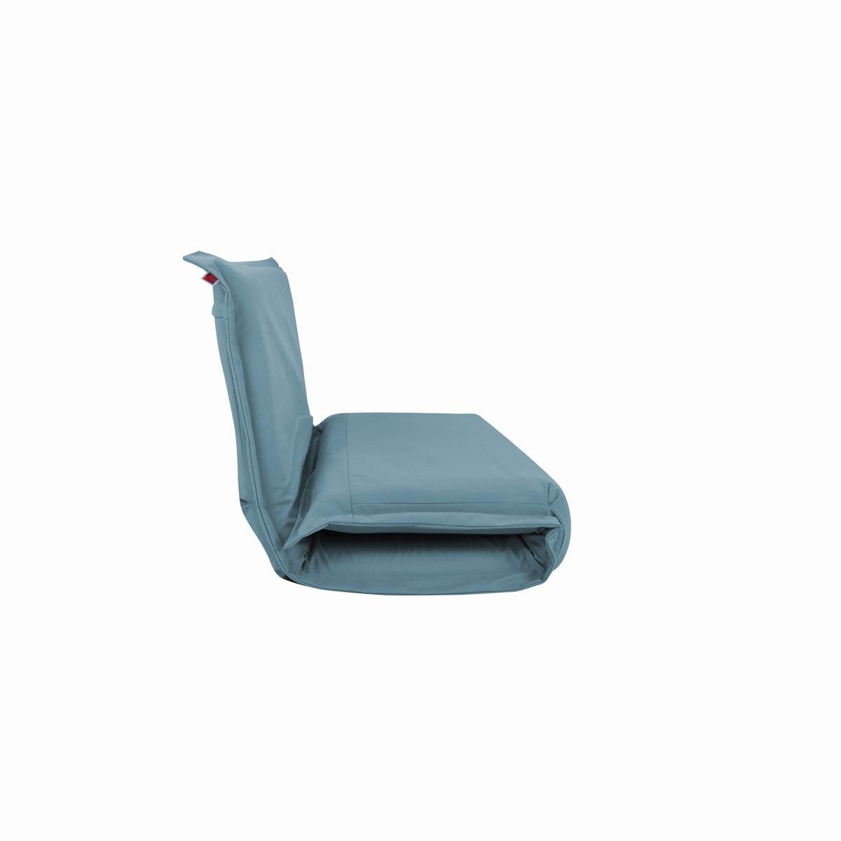 Pufe ClicClac Duo Lounge Tecido LN03 Azul Ceu 03 04
