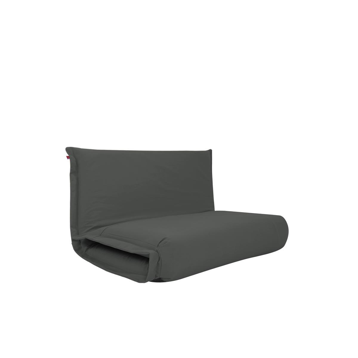 Pufe ClicClac Duo Lounge Tecido LN03 Cinza Escuro 02 04