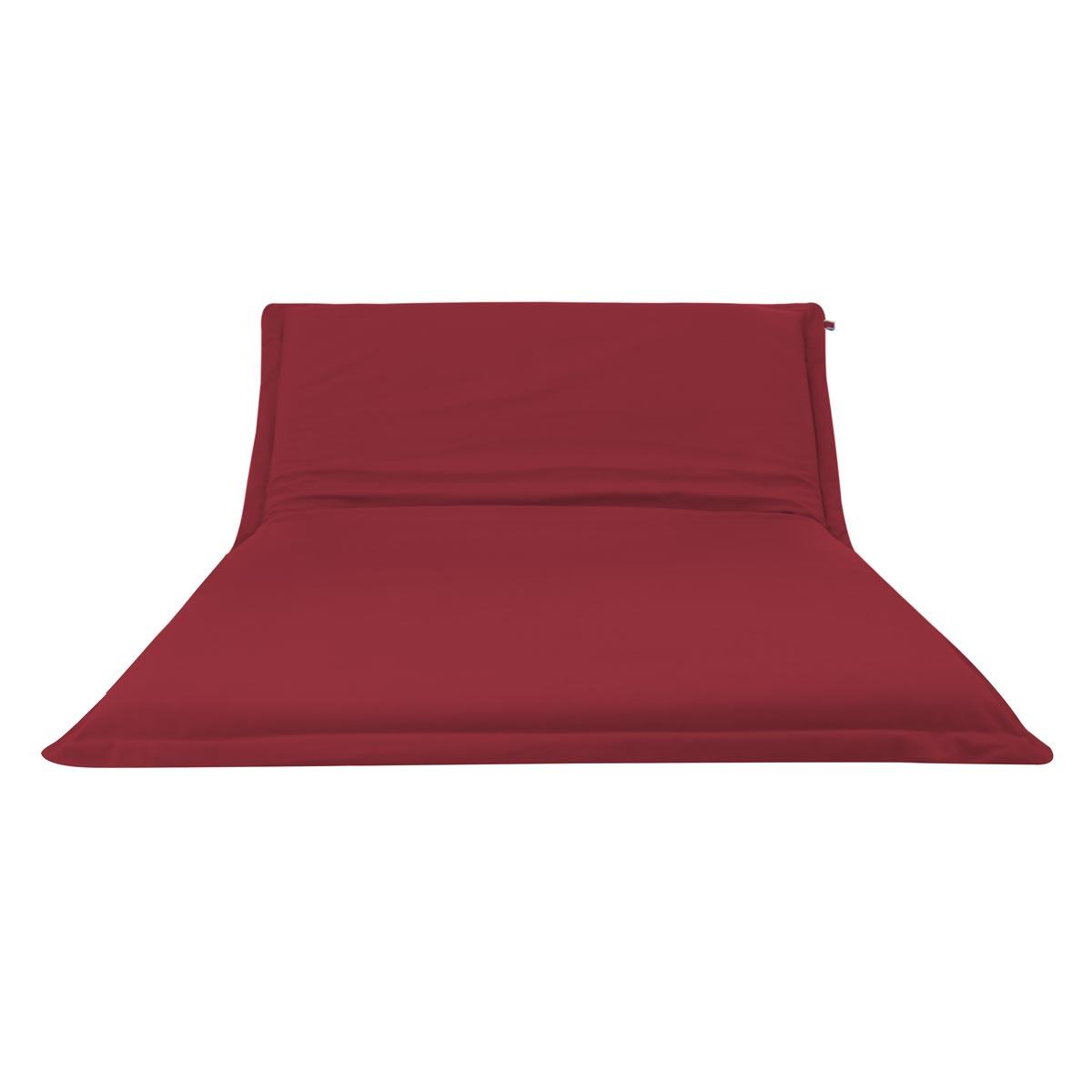 Pufe ClicClac Duo Lounge Tecido LN03 Vermelho 01 02