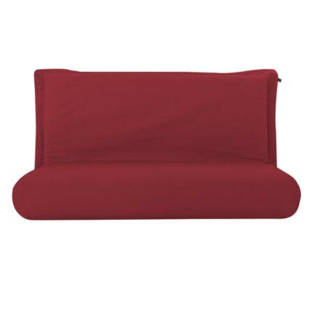 Pufe ClicClac Duo Lounge Tecido LN03 Vermelho 01 03