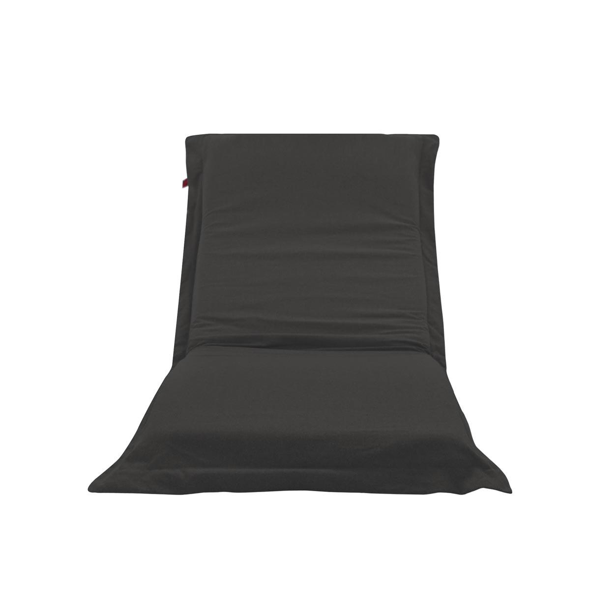 Pufe ClicClac Uno Lounge Tecido Ecolona Asfalto 01 02