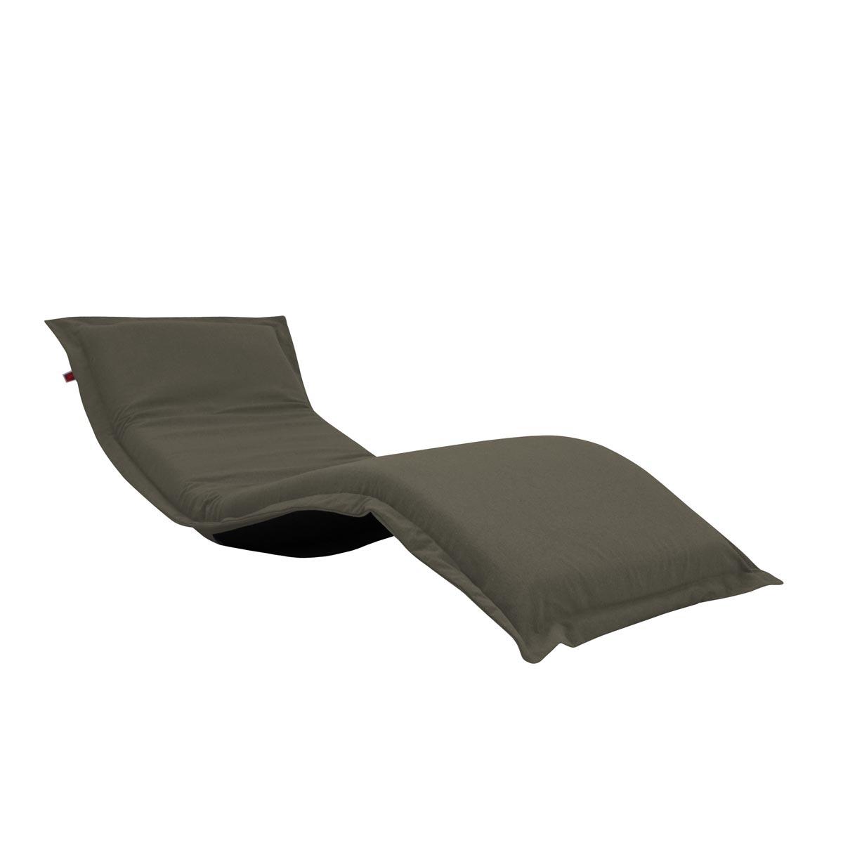 Pufe ClicClac Uno Lounge Tecido Ecolona Caqui 02 05