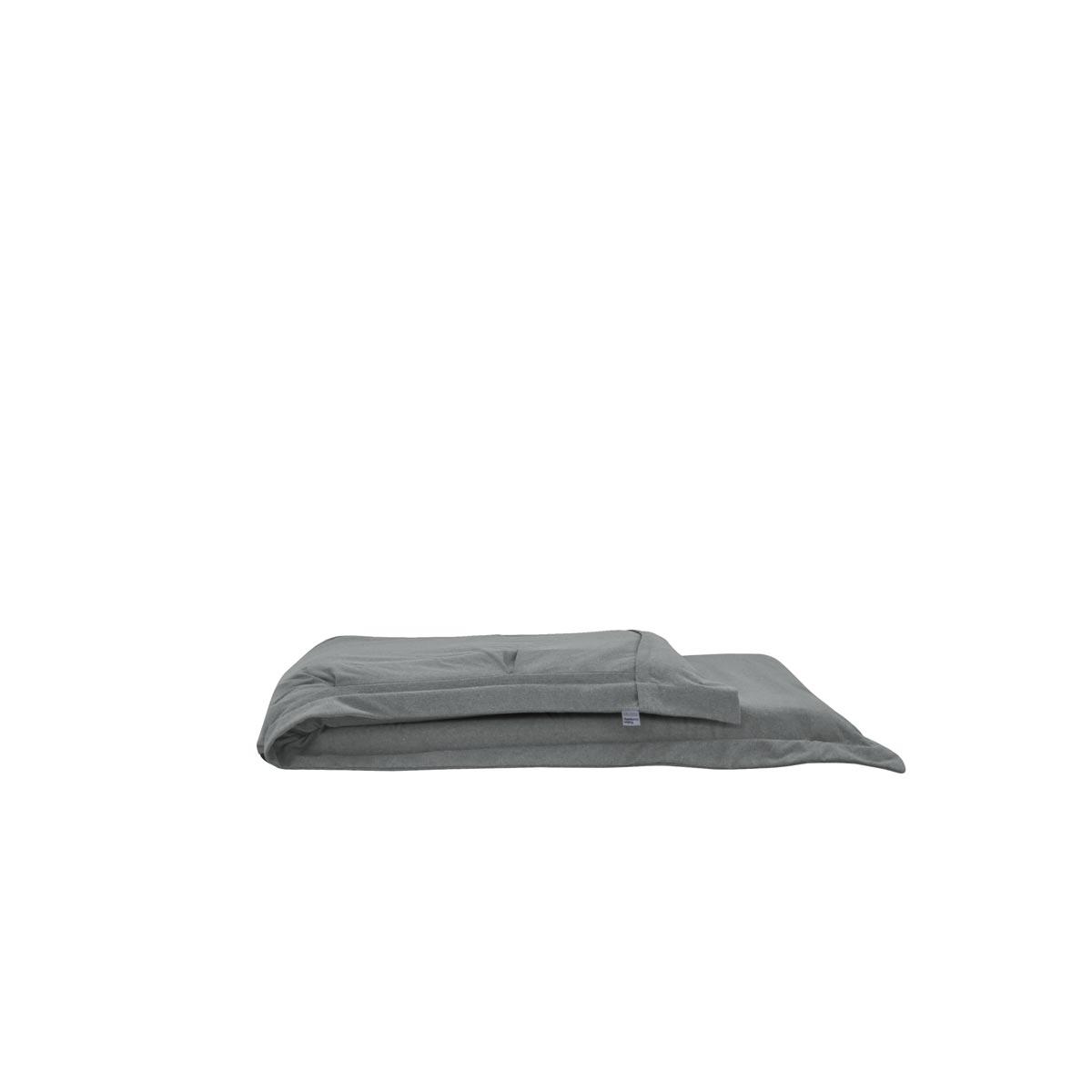 Pufe ClicClac Uno Lounge Tecido Ecolona Cimento 03 03