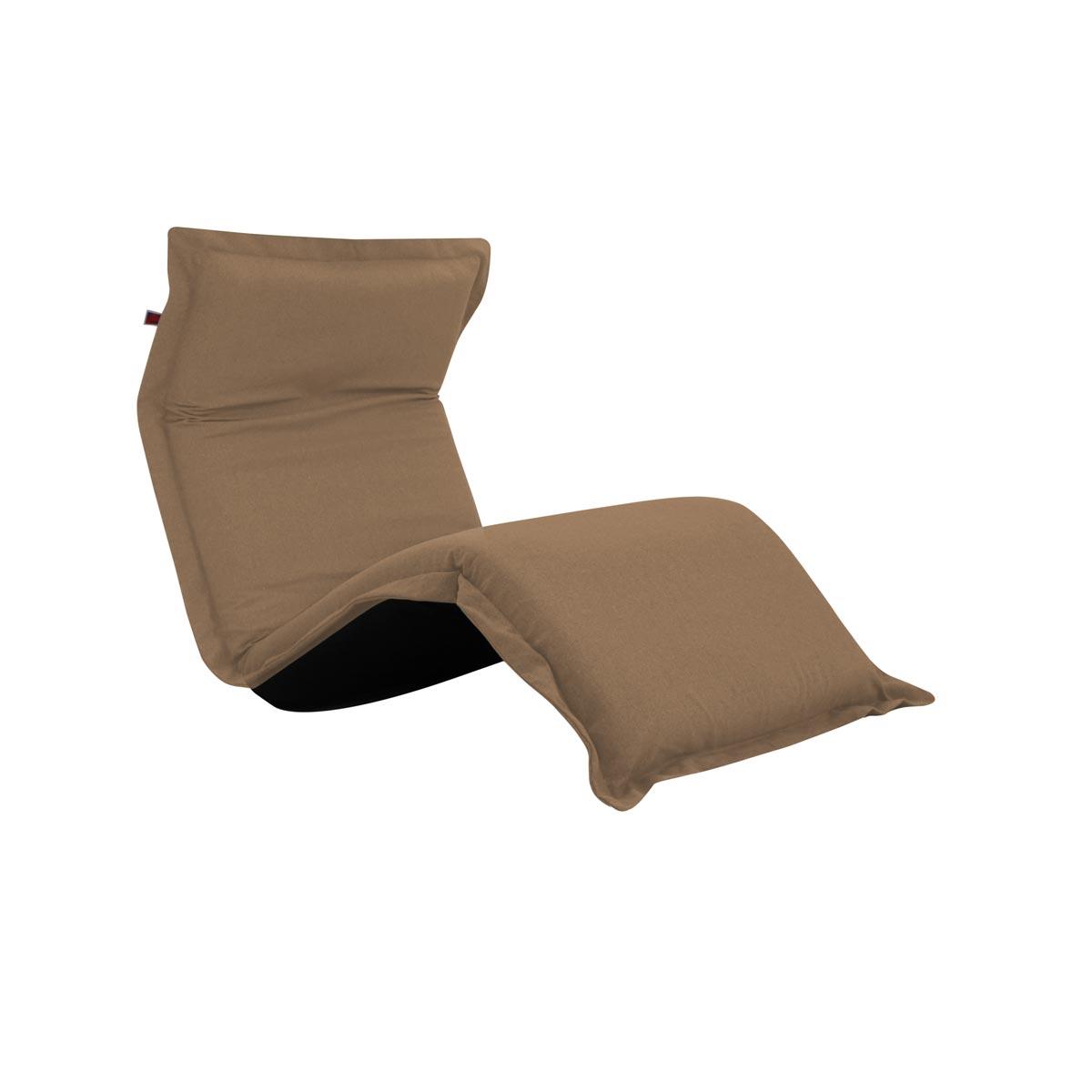 Pufe ClicClac Uno Lounge Tecido Ecolona Kraft 02 06