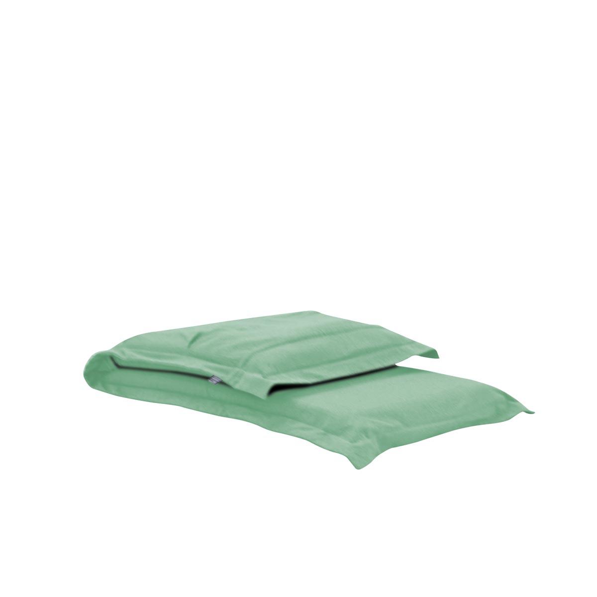Pufe ClicClac Uno Lounge Tecido Ecolona Verde Menta 02 04