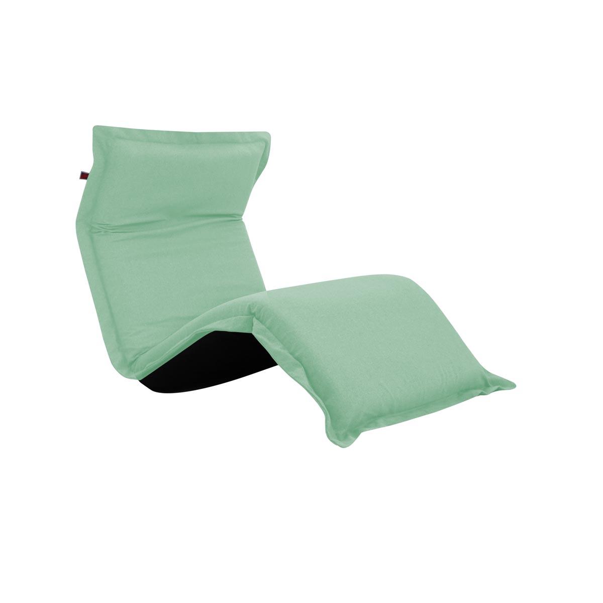 Pufe ClicClac Uno Lounge Tecido Ecolona Verde Menta 02 06