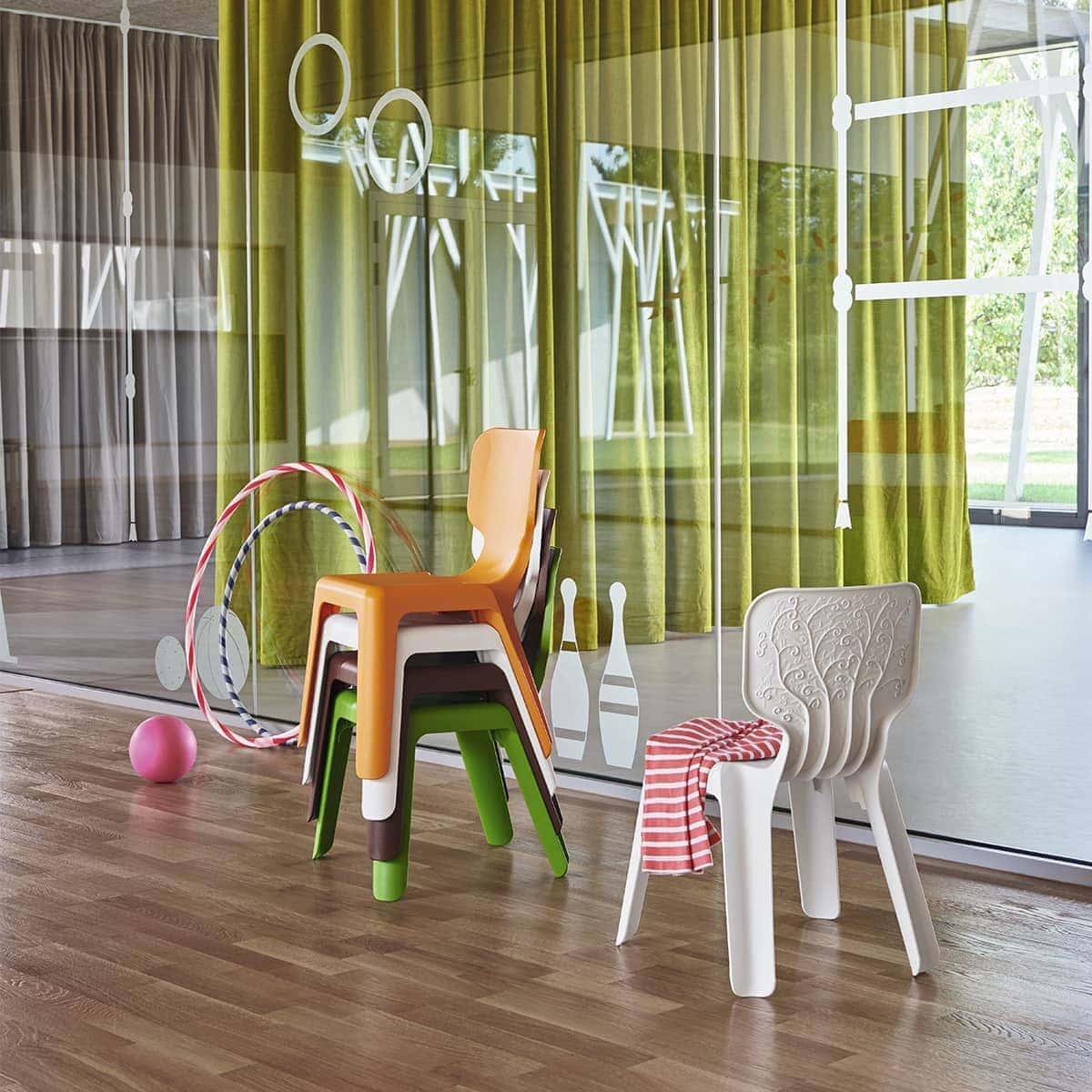 Cadeira Alma Magis® Original &Bull; Cadeira Infantil Empilhável - 7 &Bull; Deezign