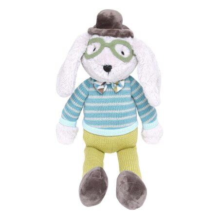 pelúcia cachorro com óculos Sherman