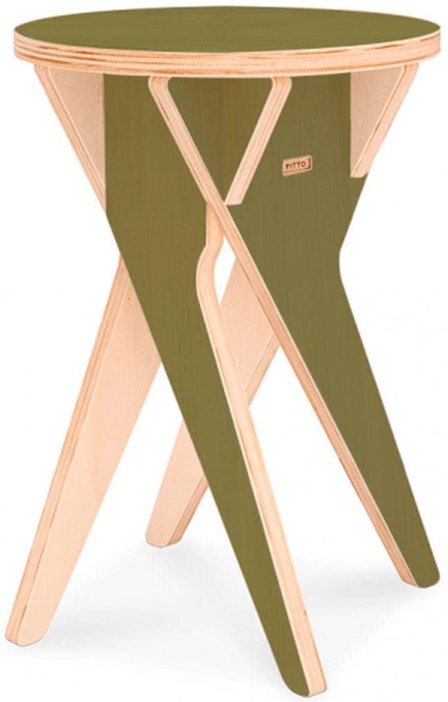 Banco ballet de madeira Natural Fitto
