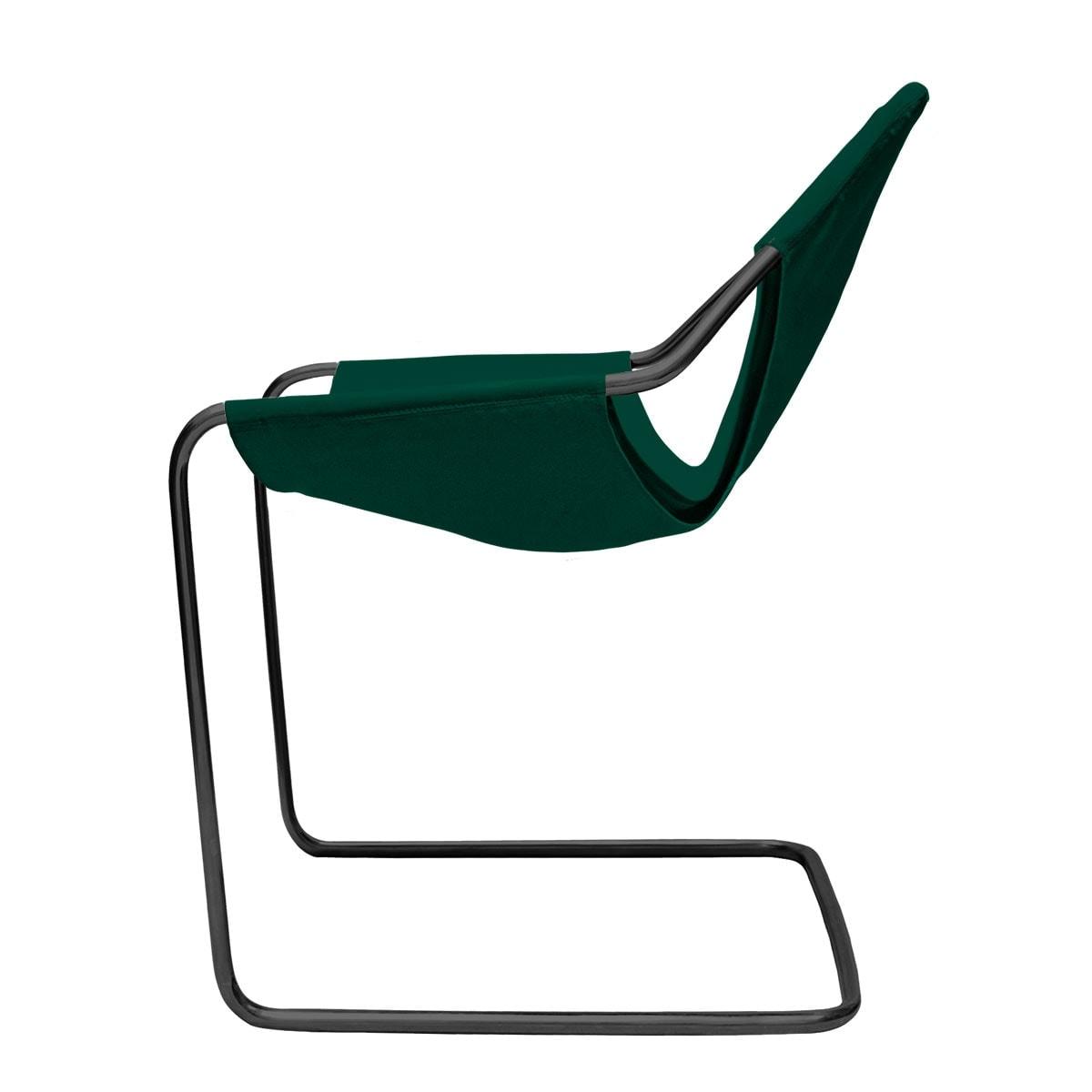 Paulistano Preto Acetinado Lonita-45 Verde Bistro lateral