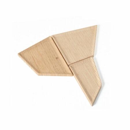 Bandeja de madeira Nordic Fitto