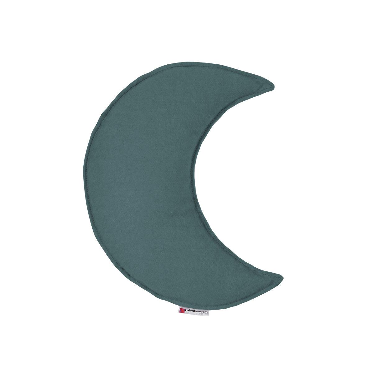 Almofada Lua Sharp M Sarja Flanelle Azul sereno