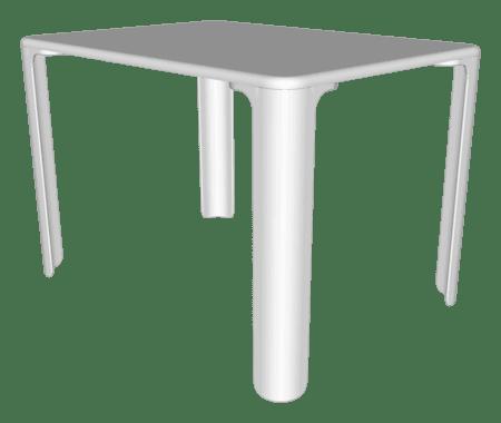 Bloco 3D Mesa Linus Magis® &Bull; - 5 &Bull; Deezign